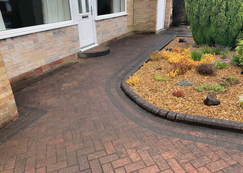 before block paving cleaned