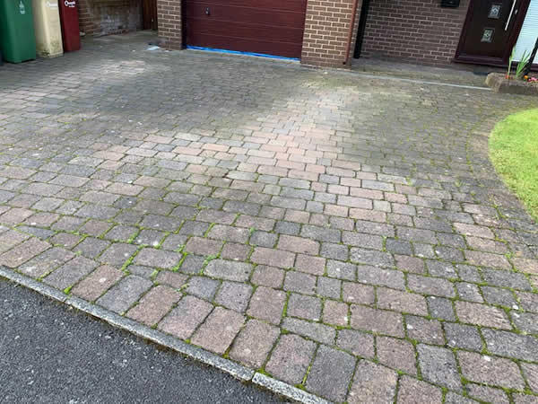 before block paving cleaning colchester