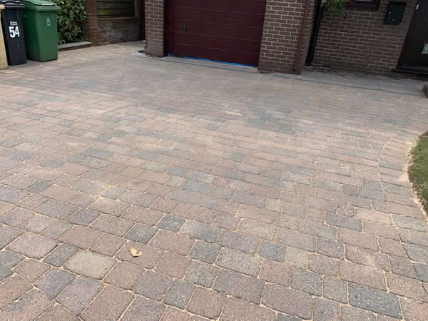 after block paving cleaning colchester
