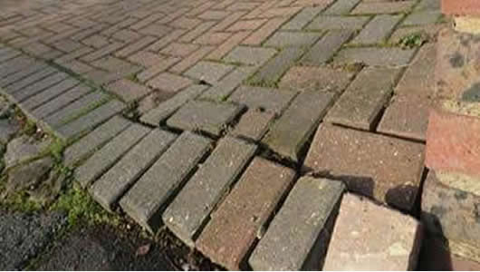block paved driveway repair Colchester